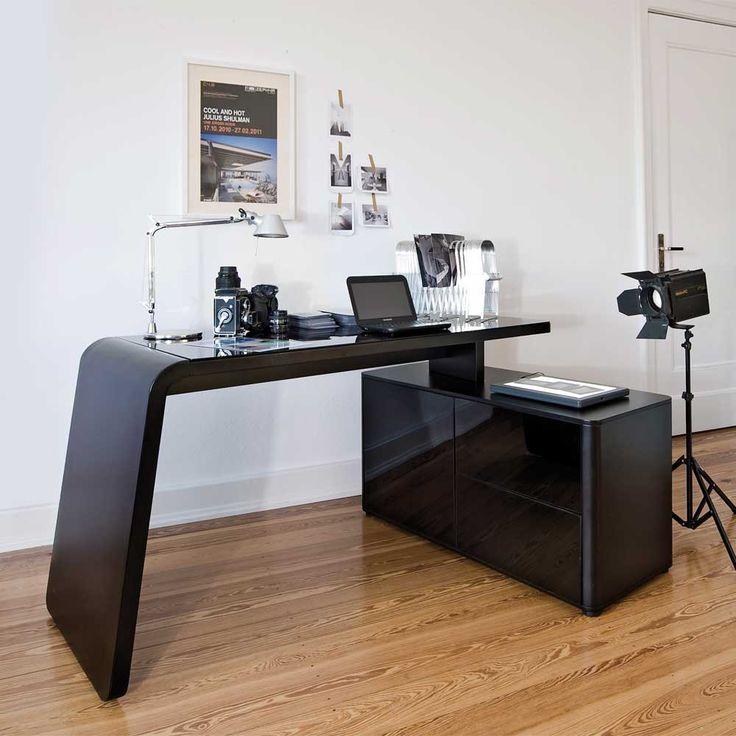 Ikea schreibtisch schwarz glas  Die besten 20+ Computertisch glas Ideen auf Pinterest | Ikea ...