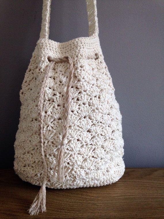 Crochet el bolso de verano shell por AshleighLJackson en Etsy