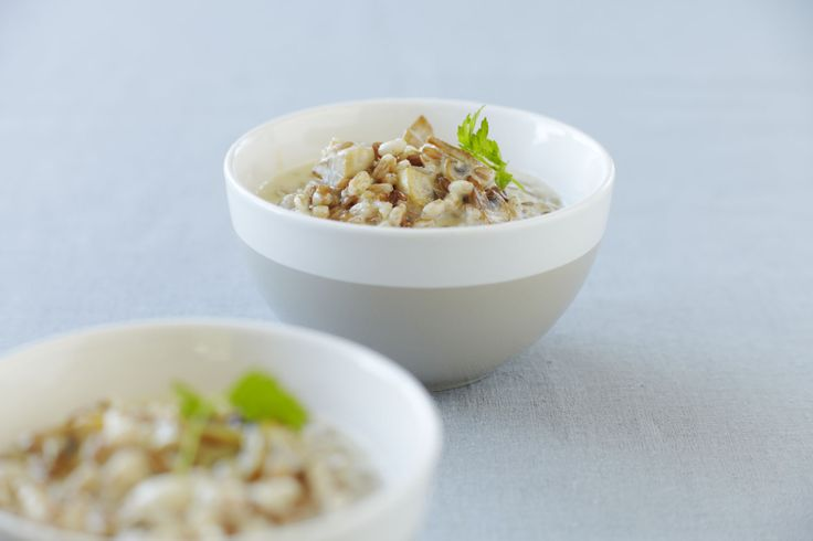 Our staff's favorite - Mushroom Risotto!