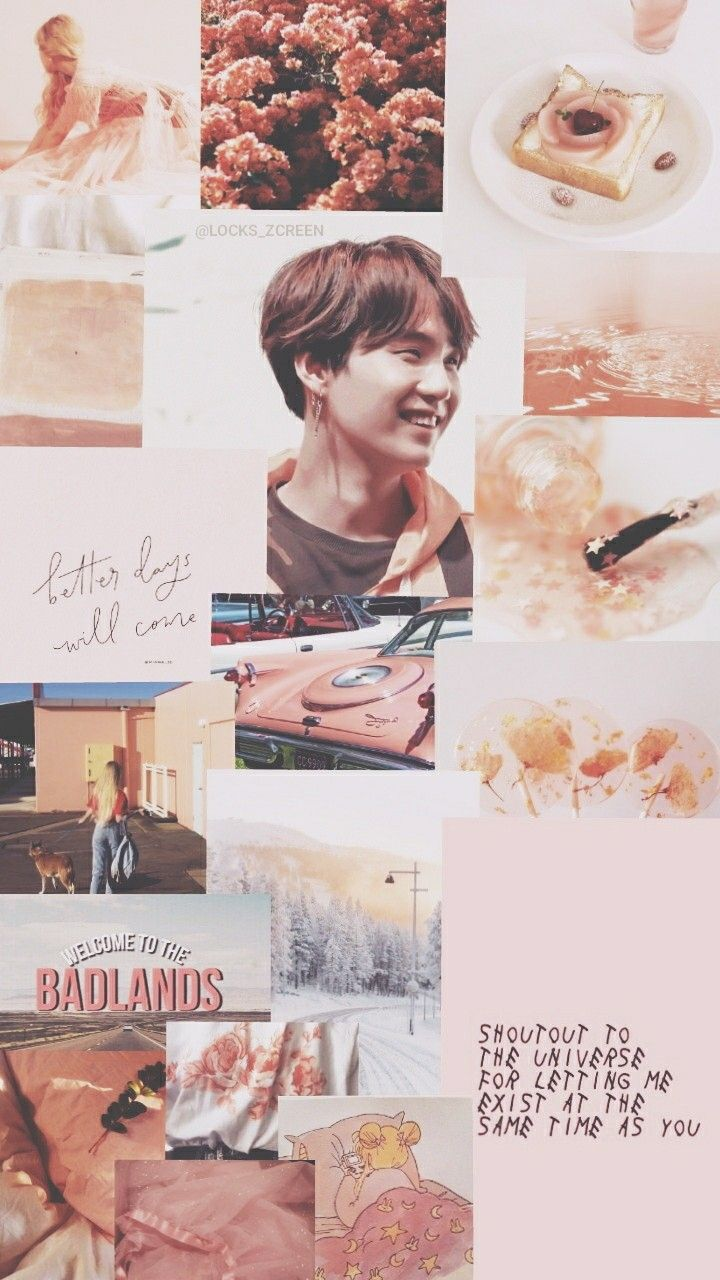 Suga Aesthetic Wallpaper Credits To Twitter Locks Zcreen C Suga