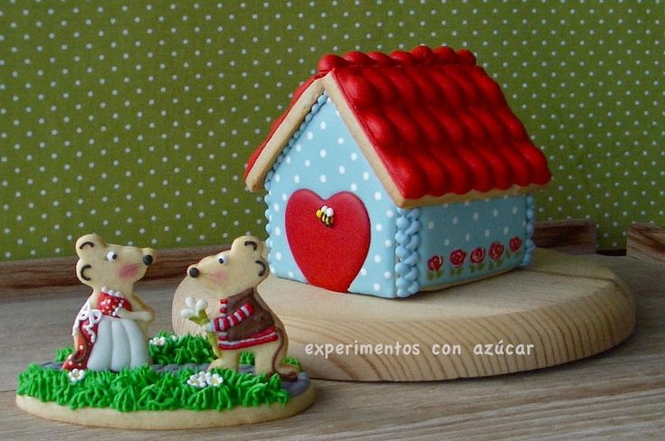 Mouse´s house | Cookie Connection | cookies | Pinterest