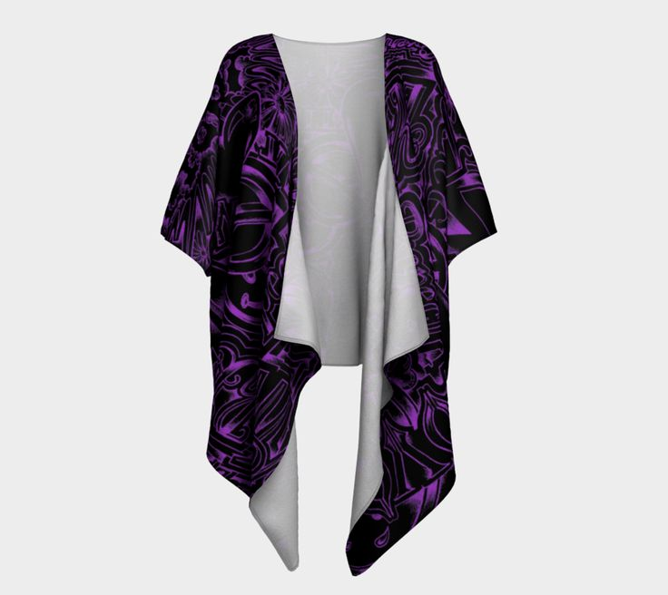 Imagine Draped Kimono