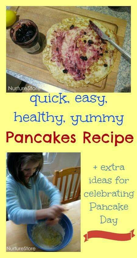 Quick easy healthy ,yummy pancakes recipe