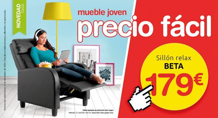 Mueble joven, precio fácil. Nueva campaña de ofertas de Tuco Muebles. Precios válidos hasta 31/12/16