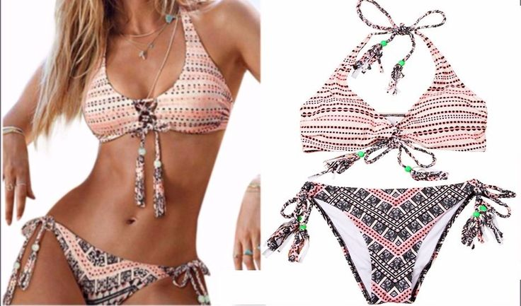 S M L XL Swimwear Brazilian Bikini set Bathing Suits Badeanzug uimapuvut Biquini: Swimsuit has good… #WomensClothing #LadiesClothes