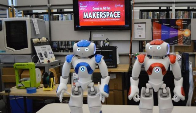 Robots at the Library
