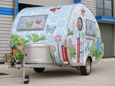 Know How: Çok Şirin Mini Karavanlar (Teardrop / Caretta)