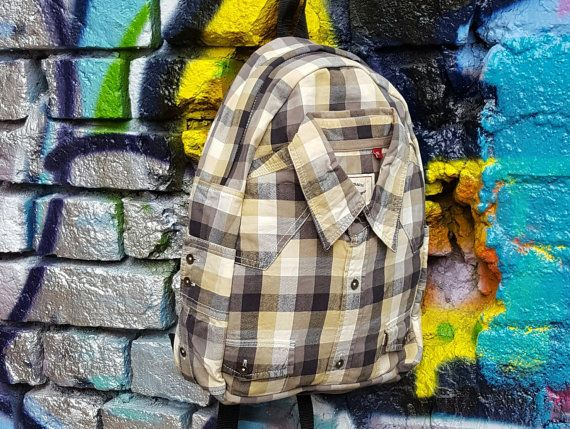 Hipster backpack Eco-friendly backpack Bohemian by YouNeedEco