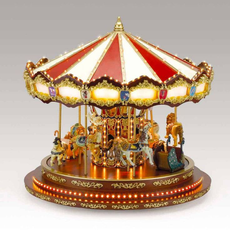 292 Best Images About Musical Carousels On Pinterest