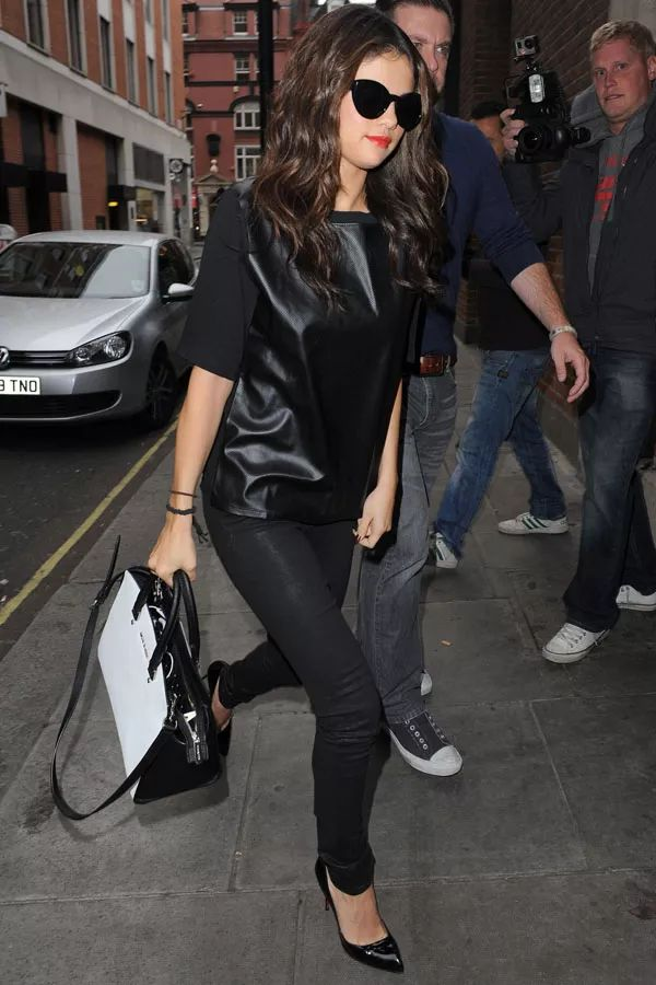 selena-gomez-leather-tee