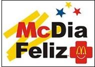 Compre seu tíquete do BIG MAC por R$10,50, trocando-o por um sanduíche BIG MAC nas lojas McDonald's, em 25 de agosto. O dinheiro arrecadado vai mesmo para a instituição!      Mais detalhes sobre a campanha:   http://www.instituto-ronald.org.br/index.php/mc-dia-feliz     Encontre o McDonald's mais proximo da sua casa:  http://www.mcdonalds.com.br/#/NPC%253ARestaurant    IMPORTANTE - A PROMOÇÃO DO BIG MAC NÃO FAZ PARTE DO MCDIA FELIZ. APENAS O SANDUÍCHE E SOMENTE NO DIA 25 DE AGOSTO.