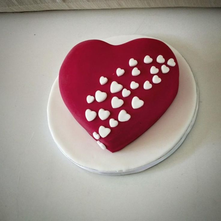 Red heart - Cake by nef_cake_deco
