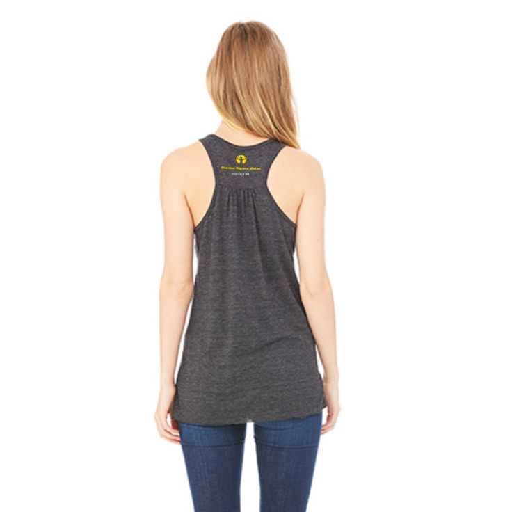 Women's Flowy Racerback Tank: Actually, I can Regular price $25.00 CAD, by Asskicker Ink