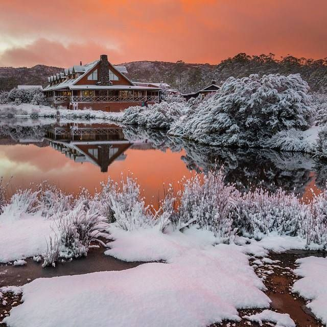 Cradle Mountain Lodge, Tasmania, Australia.