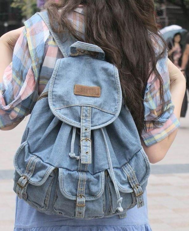mochilas tela vaquera - Buscar con Google