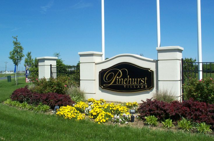 subdivision entrance landscaping ideas - Google Search ...