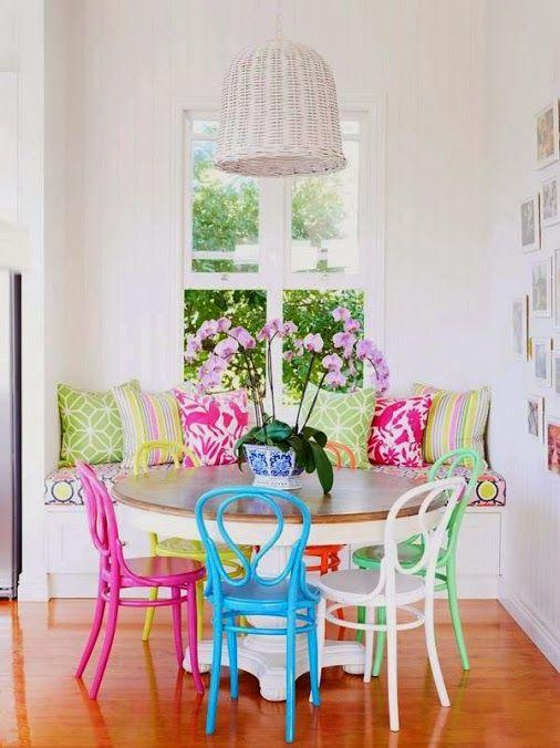 Grandes mesas redondas para la cocina. | Decorar tu casa es facilisimo.com