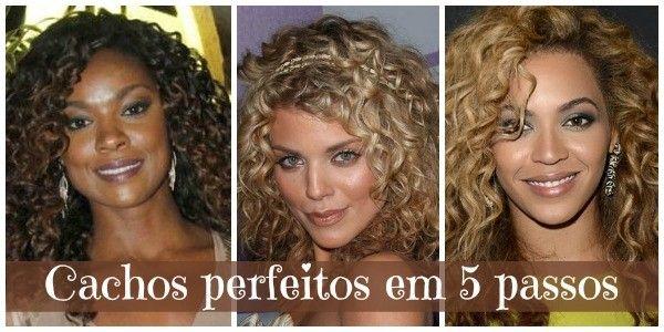 Saiba como ter um cabelão baphônico de cachos perfeitos em apenas 5 passos. Garanta um look moderno, natural e despojado para seus cabelos cacheados.