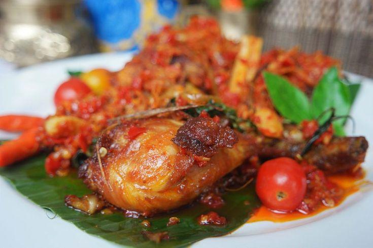 Ayam Rica (Chicken Rica) Sriwijaya by neilstha firman