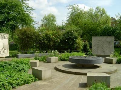 Element key stones (Peace Garden)