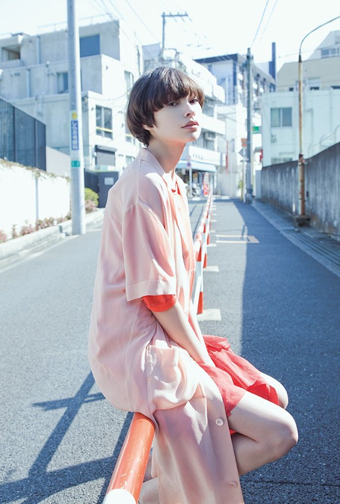 Rina Ota photographed by Sayuri Ichida for I Love You #8