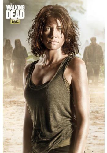 """Poster verticale """"Maggie"""" della serie televisiva #TheWalkingDead. Dimensioni: 61 x 91,5 cm."""