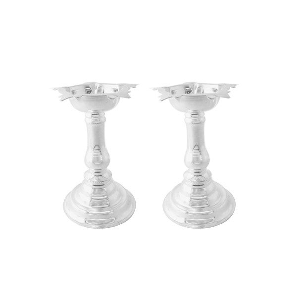 Jpearls Silver Diyas Set in 100 Grams | Pure Silver Accessories | Silver Articles