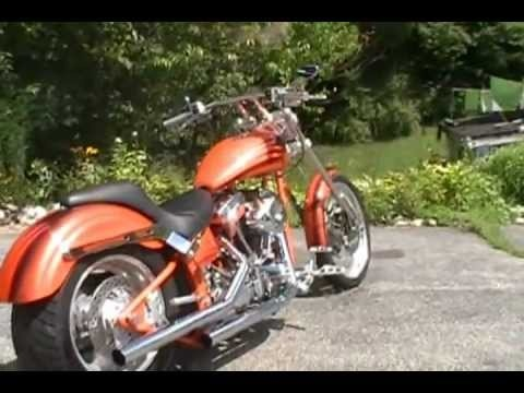 Stones Custom Motorcycles Orange Crush