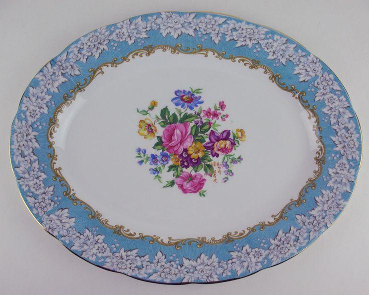 "Oval Serving Platter 12 3 4"" Royal Albert Enchantment   eBay"