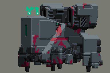 mecha pixel 3d