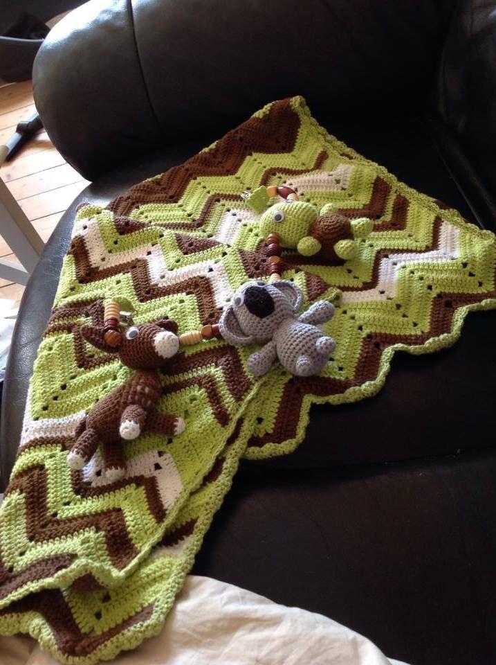 Barnevognskæden og tæppe