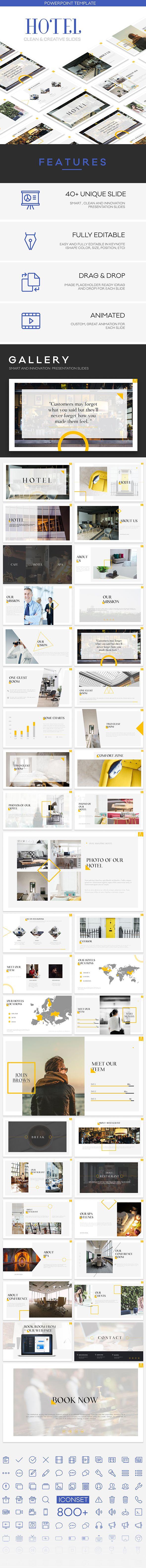 Hotel - Premium Powerpoint Presentation Template