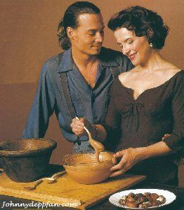 Oooo Chocolat, how I adore you :)    Depp and chocolate all in one film, so much love!