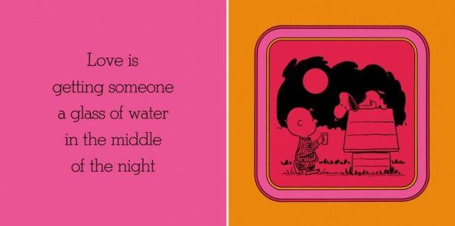 あげること/ 愛とは、夜中誰かにコップ一杯の水をあげることだ。