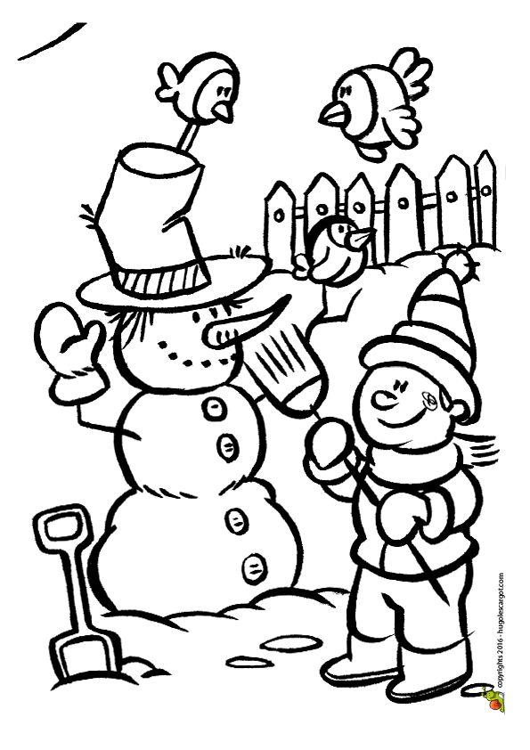Les 28 meilleures images du tableau coloriages vacances d 39 hiver sur pinterest coloriage - Dessin sur l hiver ...