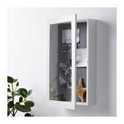 IKEA - KASSEBY, Minivitrina, Como la parte delantera se puede abrir, puedes…