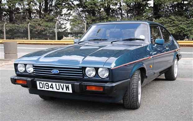 Last ever Ford Capri 1986/87