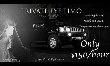 """Don't miss  Private Eye Limo!  One of our Featured Vendors at our upcoming Holiday Party. Come check out one of their amazing Limo's! 🌲December 12th from 6 to 9 pm @ The Sonesta Hotel Atlanta @Gwinnett Place #gwinnettweddingprofessionals  @privateeeyelimo  @sonestagwinnettplace  #networking #fun #community #smallbusiness #business #like #gwinnett #gwinnettevents #weddinginspiration #dj #wine #wedding #atlantaweddings #atlantaevents #weddingphotography"" by @gwinnettweddingprofessionals."