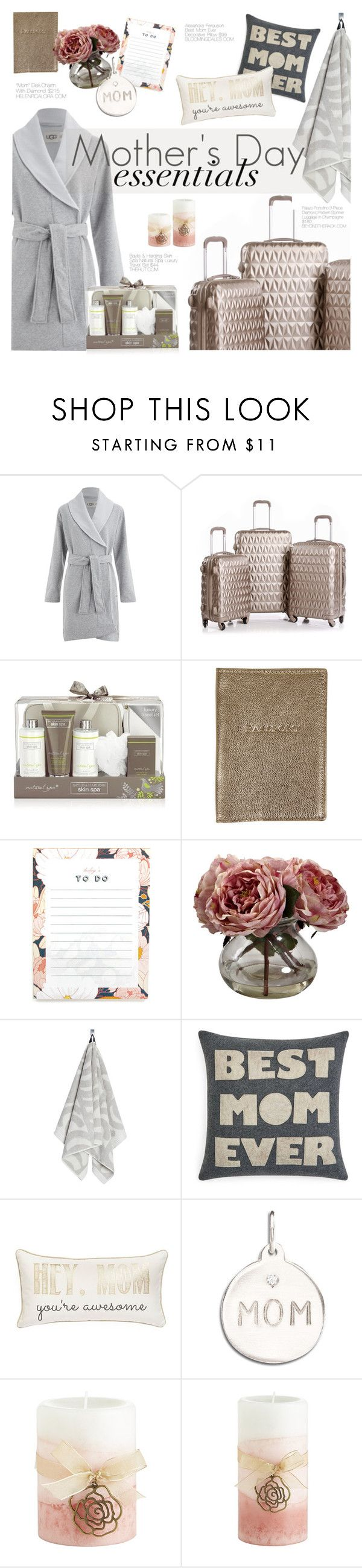 """MD Gift Guide"" by happilyjynxed ❤ liked on Polyvore featuring beauty, UGG Australia, Palazo Portofino, Baylis & Harding, Amara, Nearly Natural, Marimekko, Alexandra Ferguson, Levtex and Pier 1 Imports"
