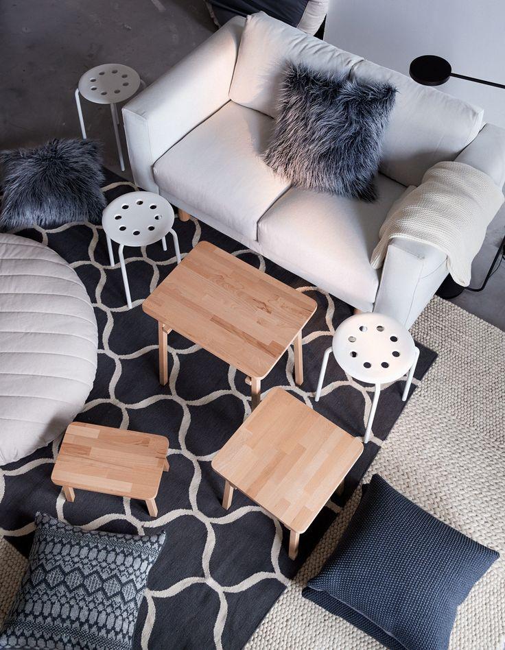 Pentru mai mult spațiu acasă, alege piese de mobilier ușoare, care se pot strânge și depozita rapid.