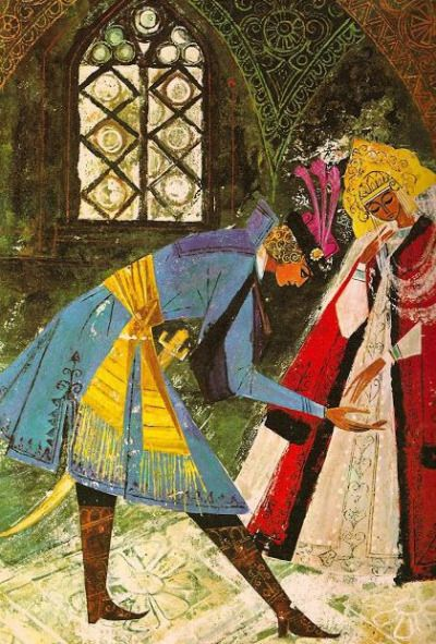 by Krystyna Turska - Illustrations to Russians Fairy Tales