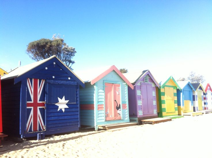 Bathing Boxes, Brighton Beach, VIC, Australia