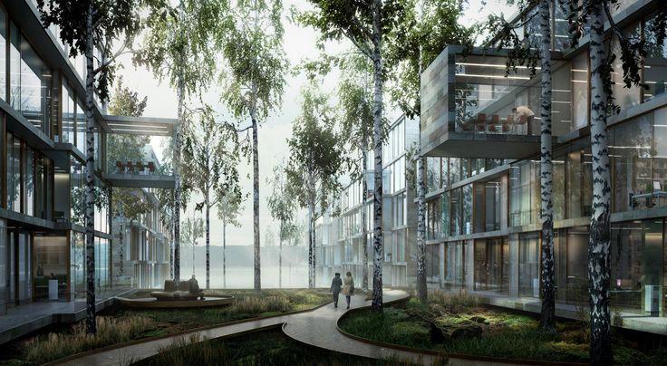 Fleslands businesspark - The Hub