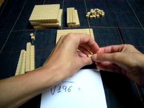 Raíz cuadrada con bloques multibase