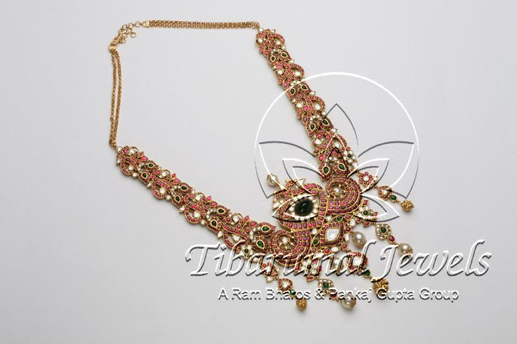 Kundan Necklace Set | Tibarumal Jewels | Jewellers of Gems, Pearls, Diamonds, and Precious Stones
