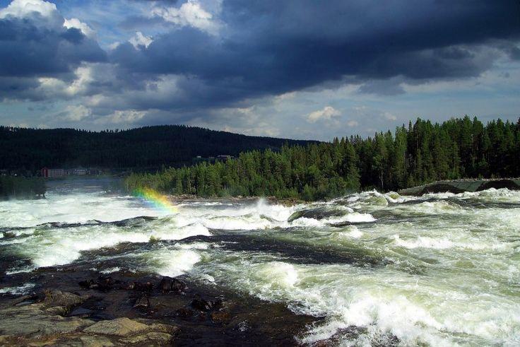 Storforsen Rapids, Sweden
