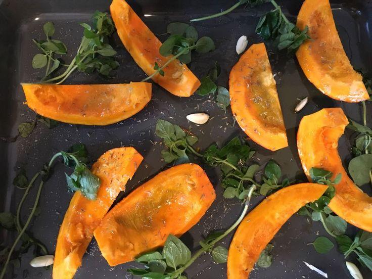 Herbstzeit ist Kürbiszeit! Nachgekocht aus dem ZEIT Magazin: Kürbis mit Leinöl und Quark