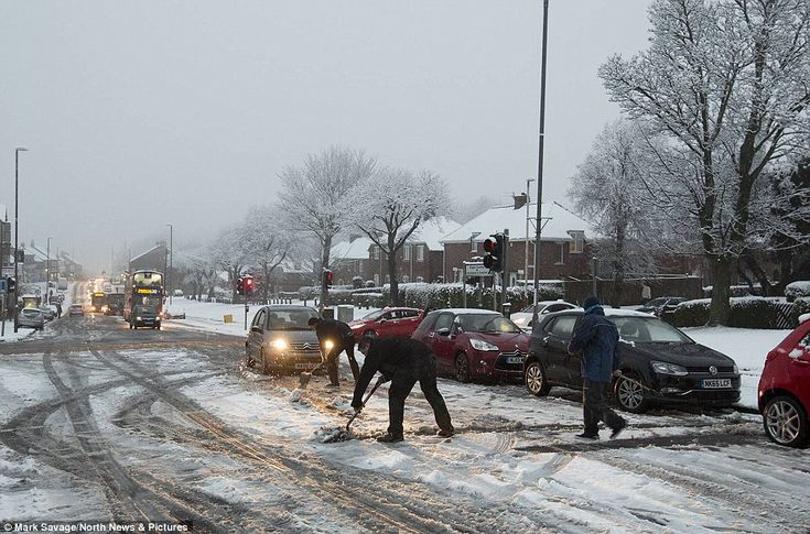 Snow in Gateshead: Electricity North West said about 400 properties in the UK remain witho...