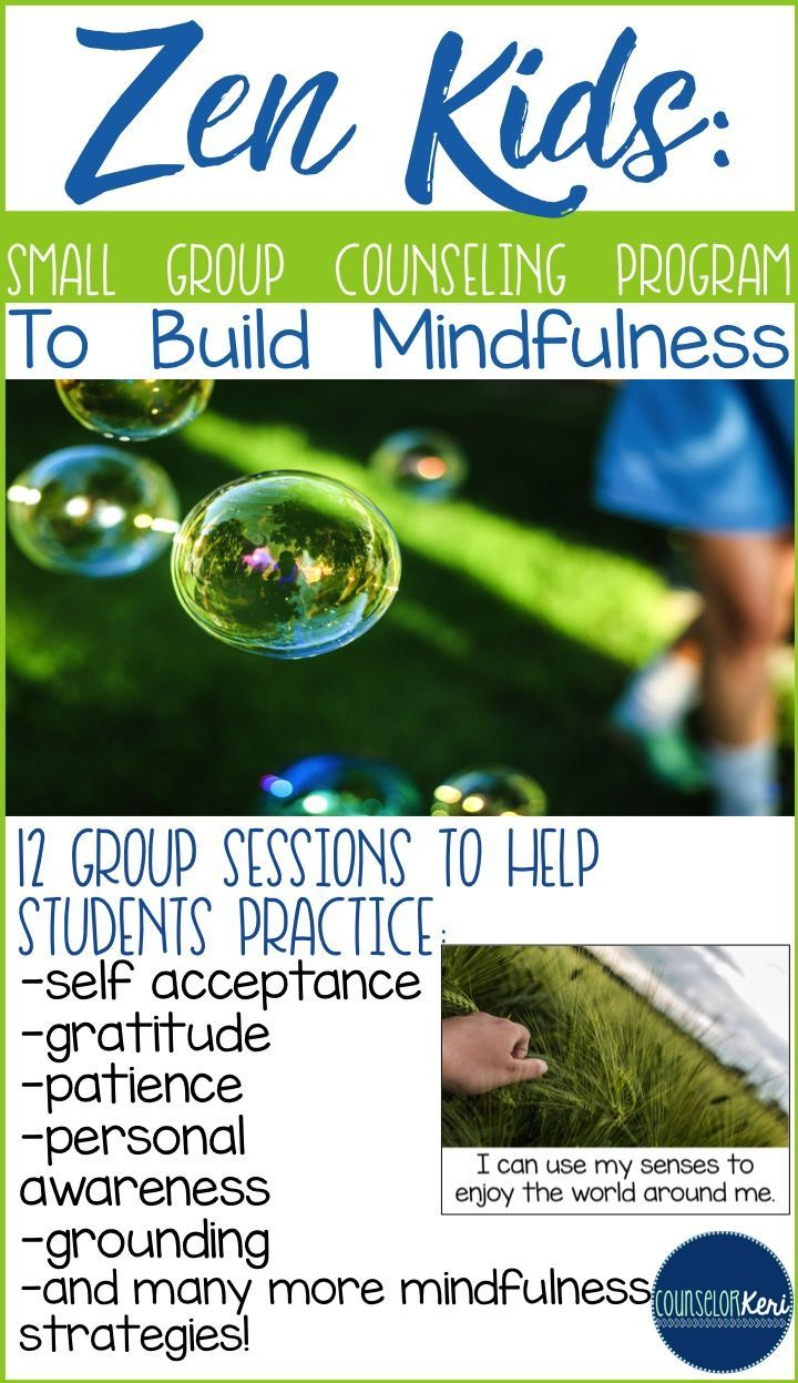Zen Kids small group program to build mindfulness in elementary school students…
