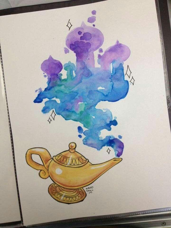 Disney tattoo Aladin